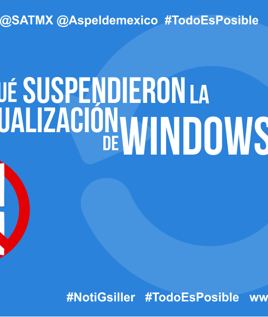 ¿Por qué suspendieron la actualización de Windows 10?